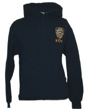NYPD Embroidered Hooded Sweatshirt - This NYPD Hooded  sweat features an em...