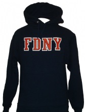 FDNY Hooded sweatshirt with Keep Back - FDNY hooded sweatshirt with front kangar...