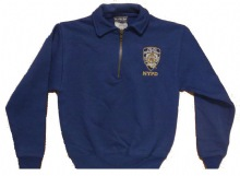 NYPD childrens cadet sweatshirt - NYPD Patch embroidered on left chest.
