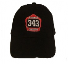 "10 Years gone ""343""Fire Mens Helmet cap Gone But Not Forgotten - Commemo..."