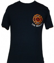 FDNY The Bravest Maltese  New York City Fire Department T-Shirt - FDNY the brave...