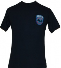 NYPD Scuba Team T-Shirt - Embroidered Patch - Embroidered Patch on left chest. W...