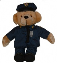 NYPD Teddy Bear - These NYPD Teddy Bears come fully equipped for duty!