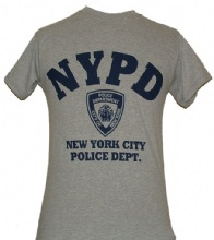 NYPD Gym T-Shirt - Perfect for working out or hanging out. This gym-style heathe...