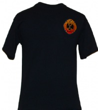 FDNY Squad Co. 1 Brooklyn Tee Shirt - Embroidered design on left chest screenpri...