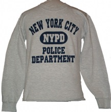 NYPD Police Department Athletic Sweatshirt - The NYPD Police Athletic Sweatshirt...