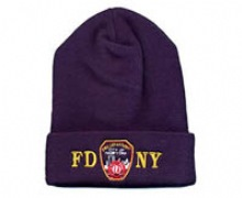 FDNY Embroidered Patch Ski Cap -