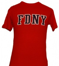 FDNY on the front with  Keep Back 200 Feet on the back - fdny on front with keep...