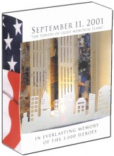 """WTC: September 11, 2001, """"The Towers of Light Memorial Flame"""" - Septembe..."""