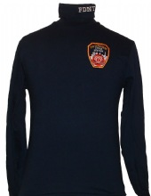 FDNY Turtleneck Shirt - fdny turtleneck Has the embroidered patch on the left ch...