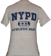 NYPD XXL Athletic Dept. T-Shirt - VERY POPULAR TEE SHIRT