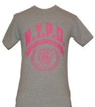 NYPD Nasty Girls gym shirt - NYPD MOST POPULAR TEE SHIRT