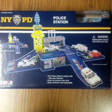 NYPD Police station gift set - NYPD Police station set. Assemble the police stat...