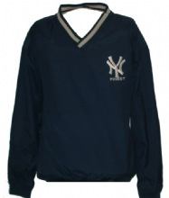 NY Finest Windshirt - NY insignia embroidered on left chest. Windshirt has pocke...