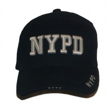NYPD 3-D EMBROIDERD CAP - This NYPD cap is our exclusive design with raised embr...