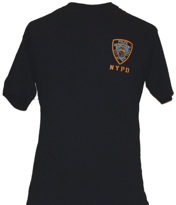 NYPD EMBROIDERED T-Shirt - VERY POPULAR AMONG THE NYPD OFFICER