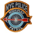 NYC Highway Patrol Patch -
