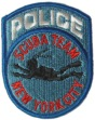 New York Police Scuba Team Patch -