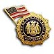 NYC LIEUTENANT 9-11 Memorial Pin WITH FLAG - 9-11 MEMORIAL Lieutenant and Flag L...