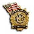 NYC Captain's 9-11 Memorial police Pin - new york's police Captain Flag ...