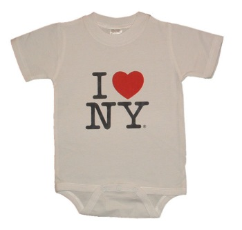 I Love NY Onesie - These I Love NY onesies will look great on the baby in your life. These quality I Love NY onsies are designed for function and fashion. It's a perfect gift for the baby in your life.