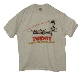 Pudgy McGuire Air Force Base, NJ T-Shirt -