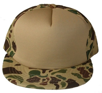 US Army famous camoflauge mesh trucker cap - 