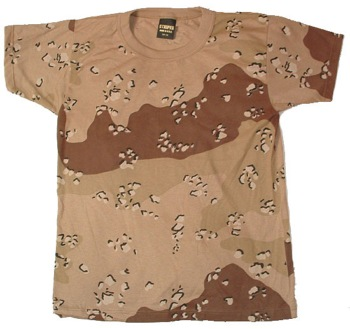 US Army camoflauge T-Shirt -