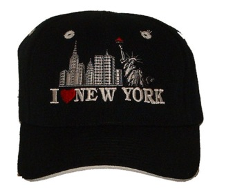 I Love NY cap - One size fits most. Adjustable velcro