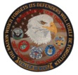 In Memory of our troops patch - In memory of our troops, the defenders of our fr...