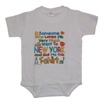 New York Onesie - I Love NY Onesie