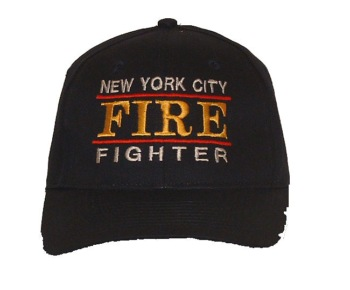 NYC Firefighter Cap - One size fits most. Adjustable.