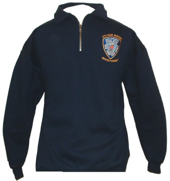 PAPD Memorial 9-11 Cadet sweatshirt - Port Authority police of New York and New Jersey patch with memorial insignia embroidered