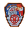 Fire Department 9/11 Memorial patch - 9/11 Memorial patch