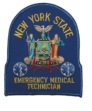 NEW YORK STATE EMT Patch -
