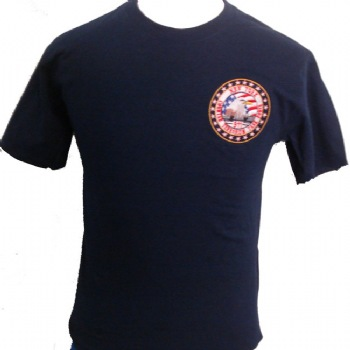New York Police Counter Terrorism Task force t-shirt - NY Counter terrorism task force logo embroidered on left chest. Printed back