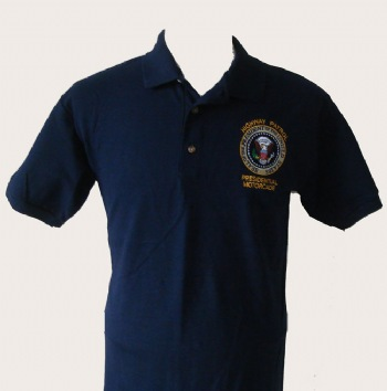 "New York's Highway patrol Presidential motorcade golf shirt - Presidential seal embroidered on left chest with ""Highway patrol presidential motorcade"" lettering"
