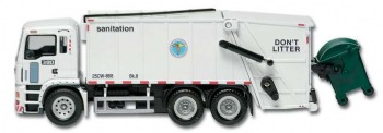NYC Sanitation pullback truck -