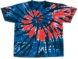 Independence  TYE DYE TEE SHIRT -