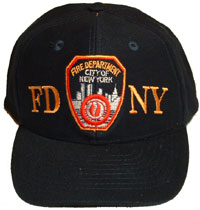 3929e73e3 FDNY Embroidered SHIELD Cap - FDNY embroidered on this top-quality cap with  clot.