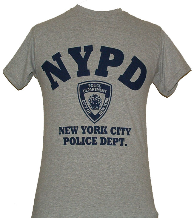 861edff39 NYPD Gym T-Shirt - Perfect for working out or hanging out. This gym