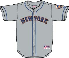 the best attitude 8451a 869be New York Mets Away Jersey - NYFirePolice.com