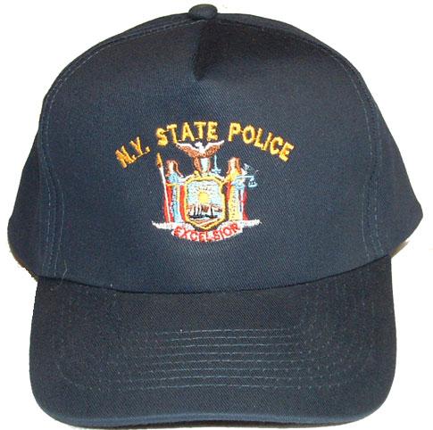 e7413cb839559 NEW YORK State Police Embroidered Cap -