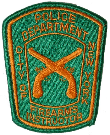 US CITY OF NEW YORK POLICE DEPARTMENT PATCH