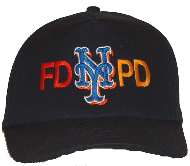 1406d17bf3036 FD PD NEW YORK Emboidered Baseball Cap - This quality black FD-PD new york