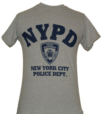 0431f3e53 NYPD Gym T-Shirt - Perfect for working out or hanging out. This gym