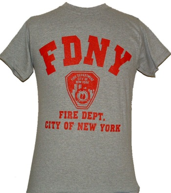 Fdny gym tee shirt for Gym printed t shirts