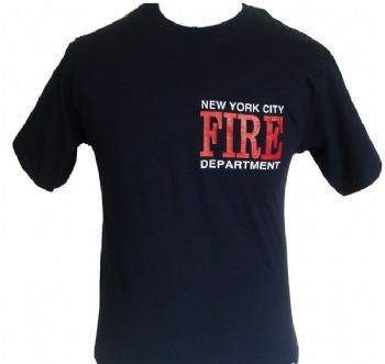 New york city fire department t shirt for Fire department tee shirt designs