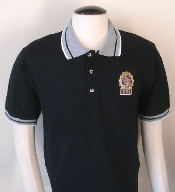 ae6d5353 New York Police Detective golf shirt - New York Police Detective shield  embroidered on left chest